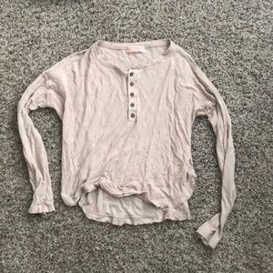Urban Outfitters thermal cropped top